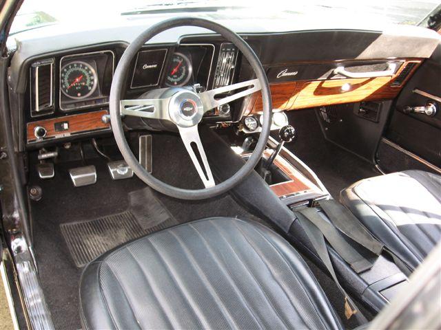 Black Rs Z28 Chevy Camaro