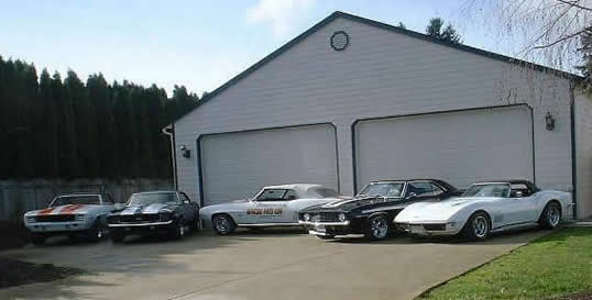 Tim's Muscle Car Shop